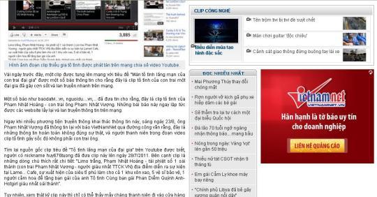 VietNamNet quy chụp các báo đăng tải thông tin không chính xác về ông Phạm Nhật Vượng